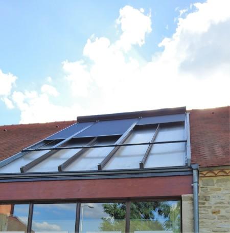 Volts de toiture à ouverture décalée